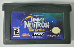 Jimmy Neutron Original - GBA