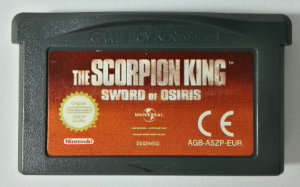 Scorpion King Original [Europeu] - GBA