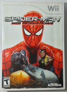Spider-Man Web of Shadows Original - Wii