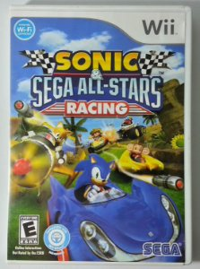 Sonic & Sega All-Stars Racing Original - Wii