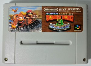 Donkey Kong Country 3 Original - Super Famicom