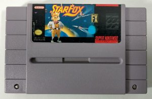 Star Fox Original - SNES