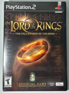 The Lord of the Rings the Fellowship of the Ring Original - PS2