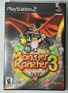 Monster Rancher 3 Original - PS2