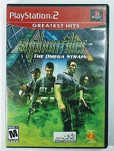 Syphon Filter the Omega Strain Original - PS2