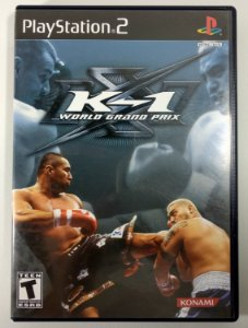 K-1 World Grand Prix Original - PS2