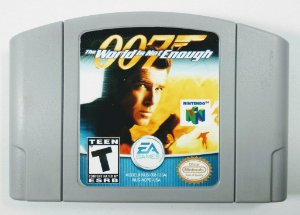 007 The World is not Enough Original - N64