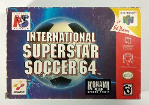 International Superstar Soccer 64 Original - N64