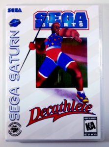 Decathlete Original - Sega Saturn