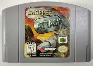 Chopper Attack Original - N64