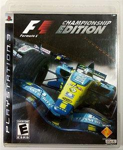 F-1 Championship Edition - PS3