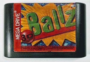 Jogo Ballz 3D Original - Mega Drive