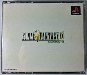 Final Fantasy IX Original [JAPONÊS] - PS1 ONE