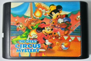 Mickey The Great Circus Mystery  - Mega Drive
