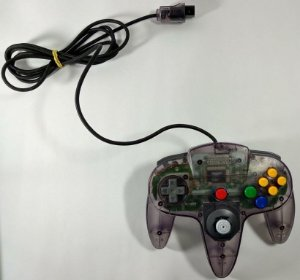 Controle Original Atomic Purple - N64