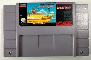 Road Rounners Death Valley Rally Original - SNES