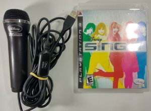 Sing It + Microfone - PS3
