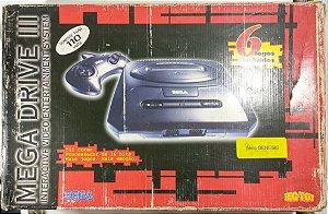 Mega Drive 3 (série Genesis) + 6 jogos