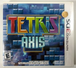 Tetris Axis Original (Lacrado) - 3DS