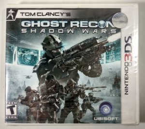 Ghost Recon Shadow Wars Original (Lacrado) - 3DS
