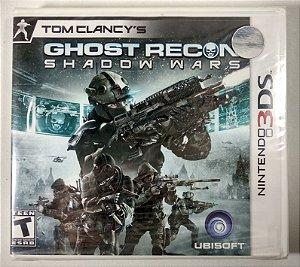 Ghost Recon Shadow Wars Original (Lacrado) - 3DS