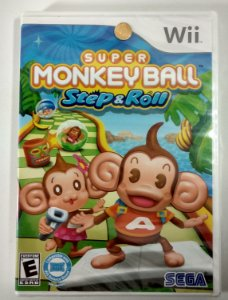 Super Monkey Ball Step & Roll Original (Lacrado) - Wii