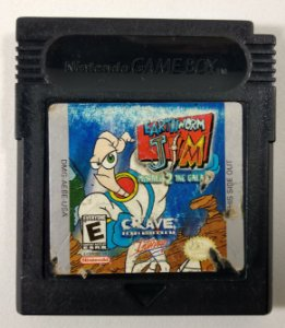 Earthworm Jim Menace 2 the Galaxy Original - GB