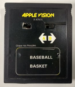 2 in 1 Apple Vision (Basket - Baseball)  - Atari