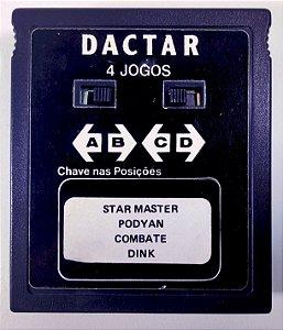 4 in 1 Dactar ( Star Master - Podyan - Combate - Dink) - Atari