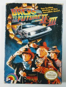 Jogo Back to the Future part II e III Original - NES