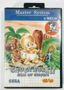 Jogo Chuck Rock II - Master System