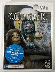 Onde Vivem os Monstros Original (Lacrado) - Wii