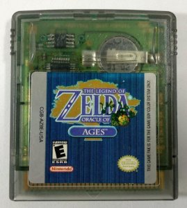 Zelda Oracle of Ages Original - GBC