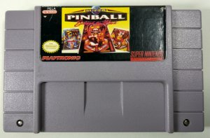 Super Pinball Behind the Mask Original - SNES