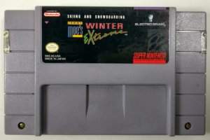 Skiing and Snowboarding Tommy Moes Winter Extreme Original - SNES