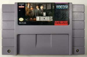 Jogo The Untouchables Original - SNES