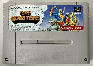 King Of the Monsters Original - Super Famicom