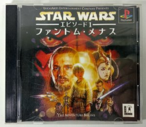 Star Wars: Episode I the Phantom Menace Original [JAPONÊS] - PS1 ONE