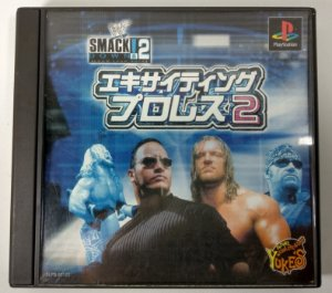 WWF SmackDown! 2: Know Your Role Original [JAPONÊS] - PS1 ONE
