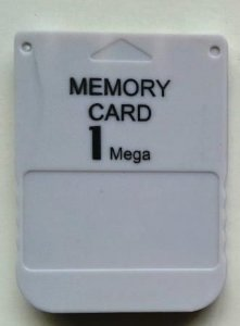 Memory Card - PS1 ONE