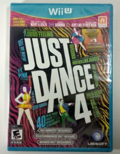 Jogo Just Dance 4 Original (Lacrado)  - Wii U