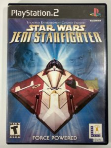 Star Wars Jedi Starfighter Original - PS2