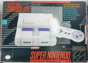 Super Nintendo + Super Mario All Stars e World - SNES