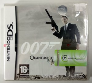 007 Quantum of Solace Original (LACRADO) [EUROPEU] - DS