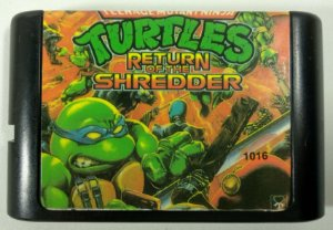 Turtles Return of the Shredder - Mega Drive