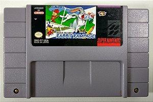 Bugs Bunny Rabbit Rampage Original - SNES