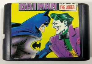 Batman Revenge of the Joker - Mega Drive