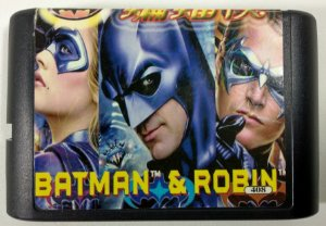 The Adventure of Batman & Robin - Mega Drive