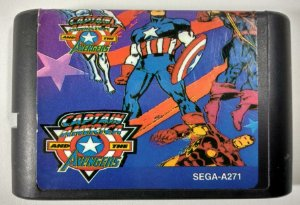 Captain America and the Avengers - Mega Drive