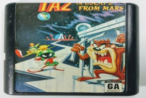Taz-Mania in Escape From Mars - Mega Drive